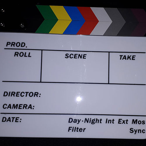 Director Clapboard